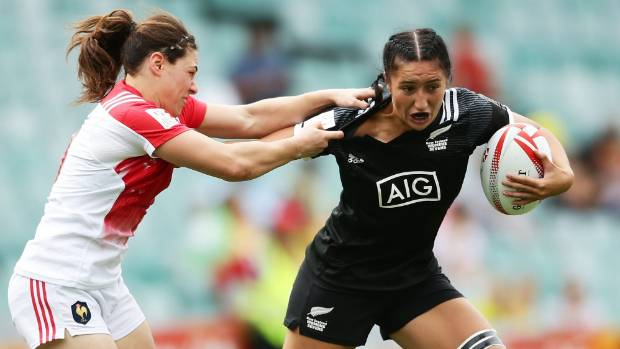 Sarah Goss is New Zealand's most capped women's sevens player with 30 tournaments.