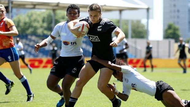 Michaela Blyde scored 40 tries for the New Zealand women's sevens team this year.