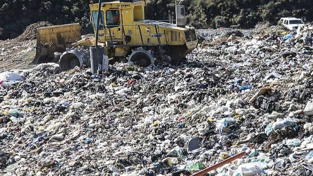 Plastic bags are the biggest problem at the Wellington landfill.