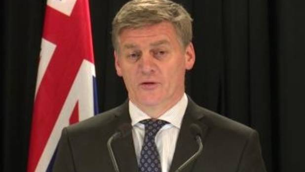 Prime Minister Bill English: doesn't want to shift the boundary.