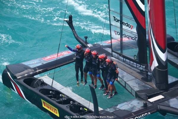 Team NZ are America's Cup winners.