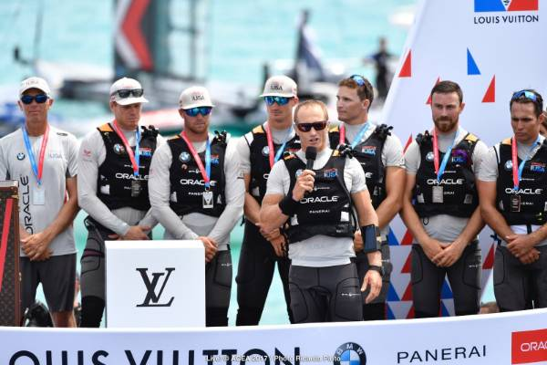 Team USA skipper Jimmy Spithill was magnanimous in defeat.