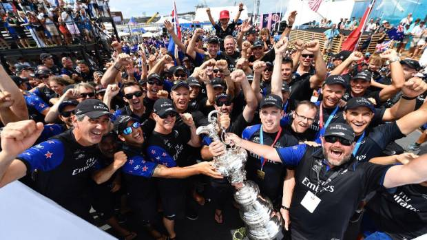 Team New Zealand believes there's a huge opportunity for the country to maximise its America's Cup win with careful ...