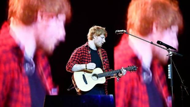 Ed Sheeran announces concert at Newcastle United's St James' Park