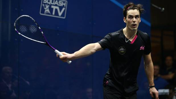 Paul Coll has risen to a career high of 12, the fourth highest placing by a Kiwi men's squash player.