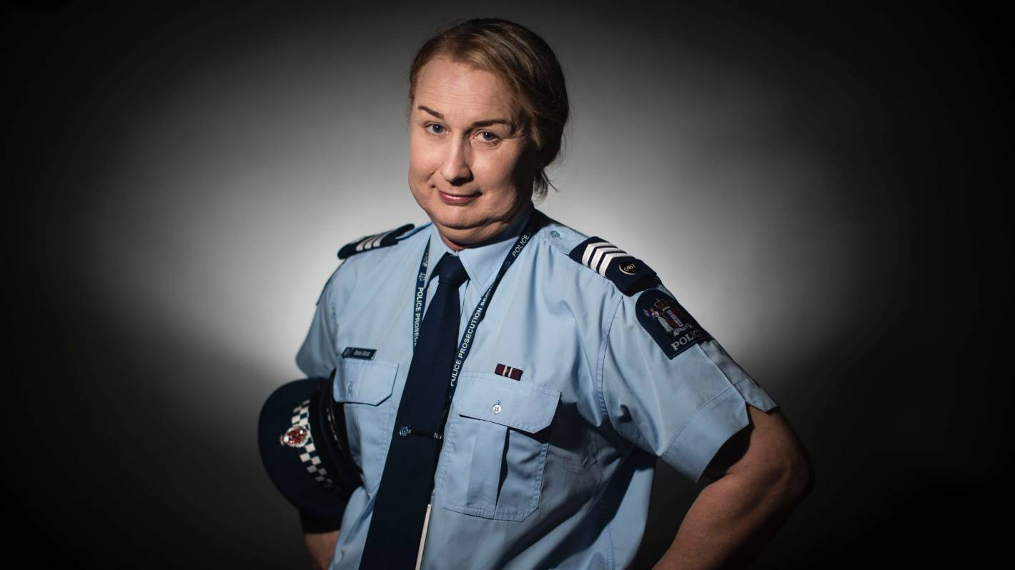 Becoming Sergeant Rhona A Transgender Cop Who Has Found