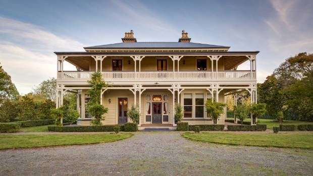 Colonial homestead in north canterbury abandoned by uk for Colonial house plans nz