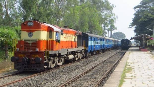 Trains in India will soon be running along the world's highest railway line.