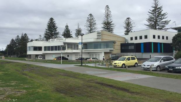 The Napier War Memorial Conference Centre was built in the 1950s as a memorial to the city's war dead.