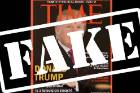 Like many mock covers, the Time cover sporting the now US president Donald Trump has many clues that fail a reality check.
