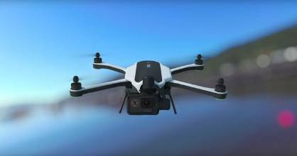 The Karma drone costs $1949 which includes a Hero5 camera and a removable gimbal.