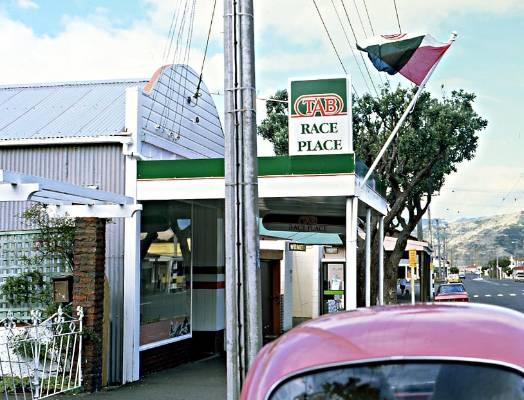 TAB Race Place in Wellington.