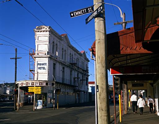 Corner of Rintoul and Riddiford Street, Newtown.