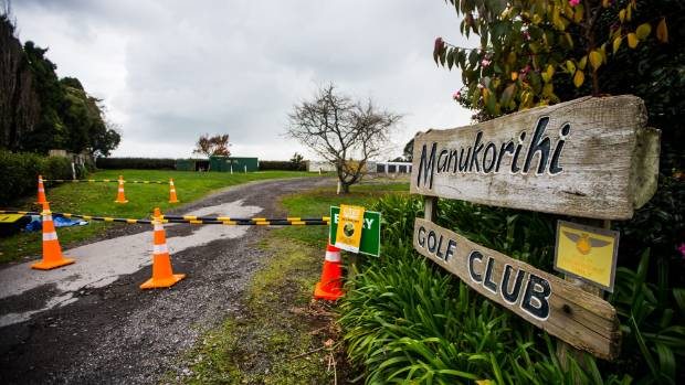 Manukorihi golf club was temporarily closed due to positive tests for myrtle rust in June.