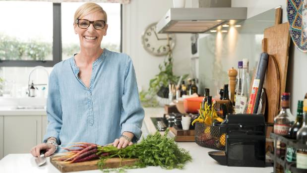 """""""I have always shown my love for people by cooking for them,"""" Tuck  says."""