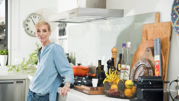 """Tuck described her kitchen as a """"small but functional"""" space that has everything she needs."""