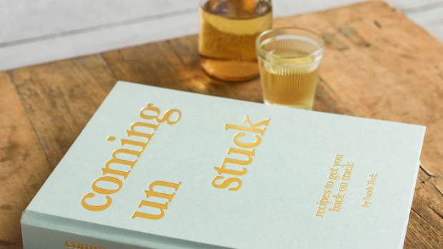 Tuck's debut cookbook, 'Coming Unstuck', comes out later this year.