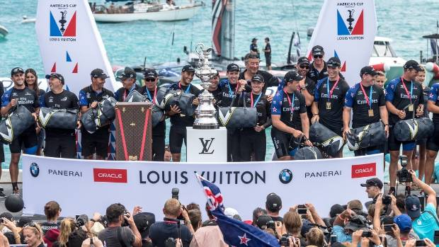 New zeal lifts New Zealand to America's Cup win