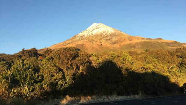 Fraser was reported missing on Mt Taranaki on Tuesday night.