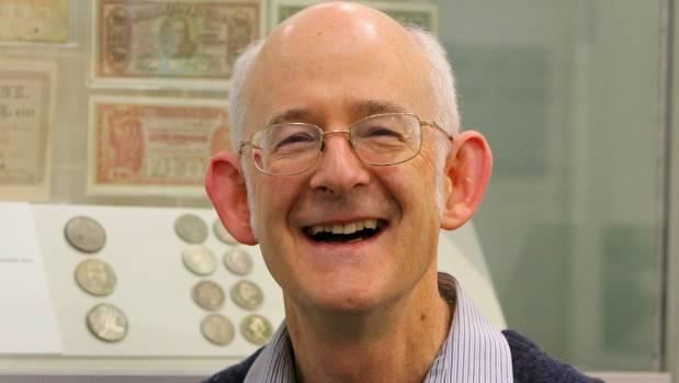 Royal Numismatic Society of New Zealand president David Galt.