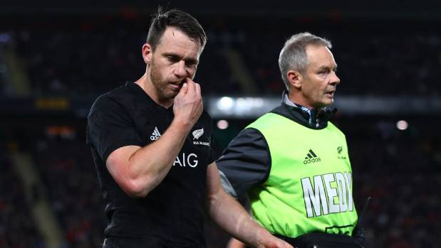 Ben Smith has been absent from top rugby since leaving the field during the first test against the British and Irish Lions.