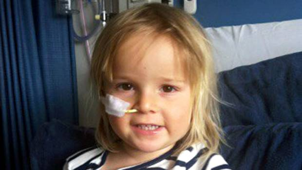 Two and a half year old Brya Bickford has been diagnosed with Acute Lymphoblastic Leukemia.