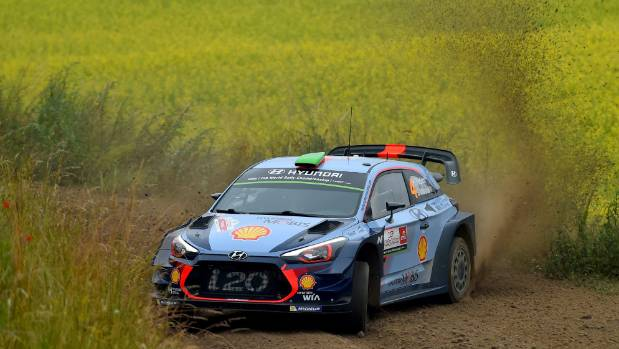 Hayden Paddon finishes second in Rally Poland