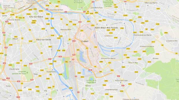 The mosque the man targeted was in the suburb of Creteil