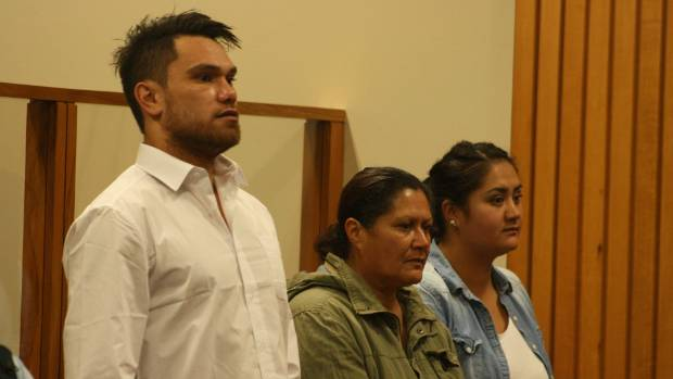 Shane Christopher Neil pictured with his co-offenders Donna Parangi, left, and Lacey-Marie Te Whetu at an earlier ...