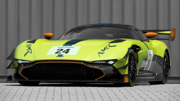The Aston Martin Vulcan AMR Pro is a Le Mans-derived supercar