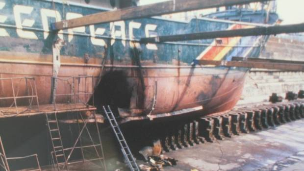Thirty years ago the Rainbow Warrior was sunk in Auckland Harbour by French spies.