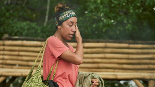 "Survivor contestant Shayna Tapusoa left the show after 33 days to join the ""jury""."