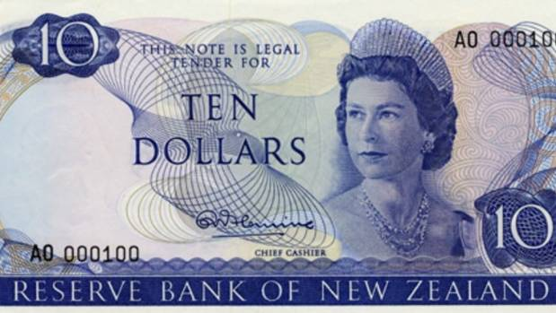 The Queen was replaced by Kate Sheppard on ten dollar banknotes in 1991.