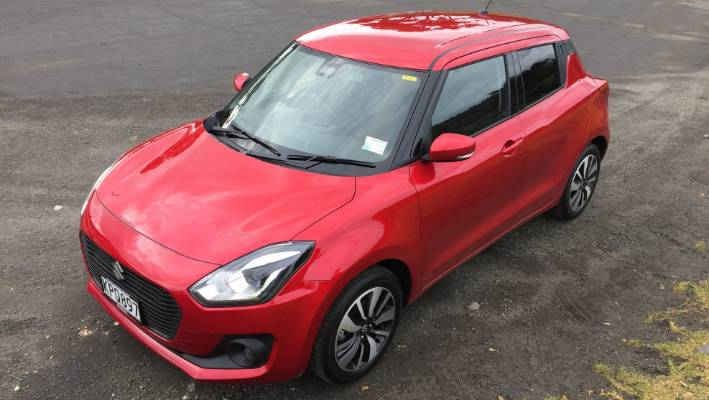 Triple-powered Suzuki Swift RS is small in size but big on