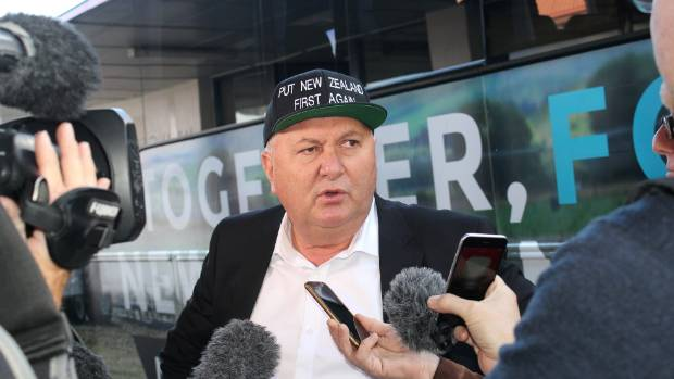"Shane Jones: ""Nine weeks out from the election, they've had a 'choo-choo' moment."""