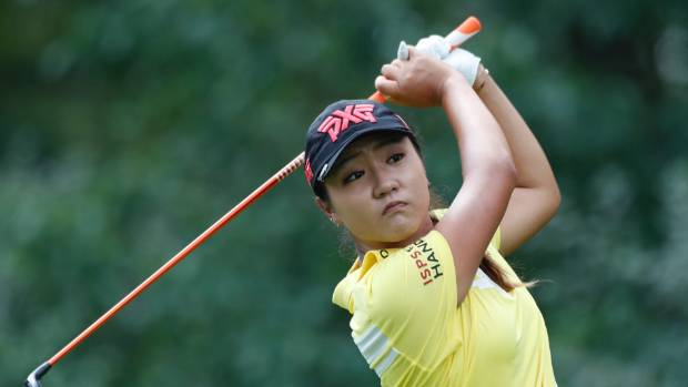 Lydia Ko improves in second round of Women's PGA Championship