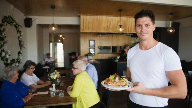 Chef Gareth Cowie of Crudo Cafe in St Andrews, Hamilton, now cooks for a top 100 restaurant.