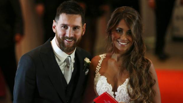 Lionel Messi and Antonella Roccuzzo's Wedding in Argentina