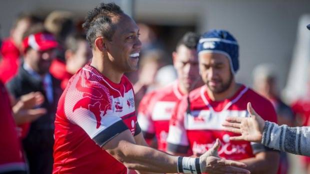 Christian Lealiifano returned to the field earlier this month in an emotional club match.