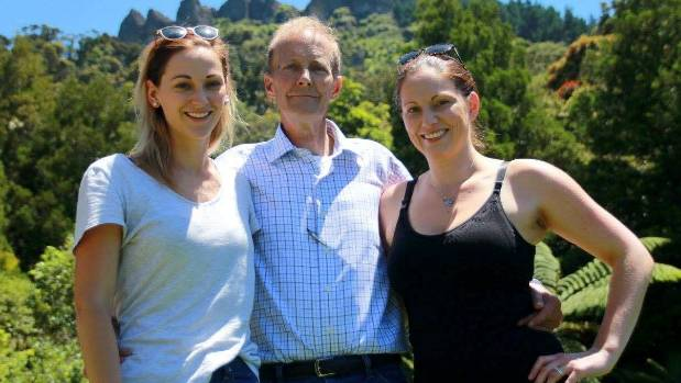 "Scott William Mieras, 60, loved his daughters - Amelia Mieras, left, and Sophie Cooney, right - ""so much"", a friend says."
