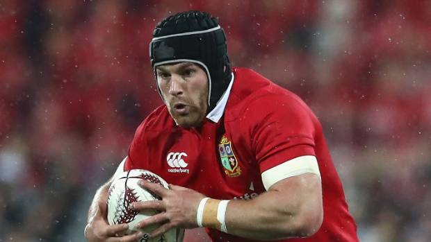 Sean O'Brien was one of the Lions' best in the second test victory over the All Blacks.