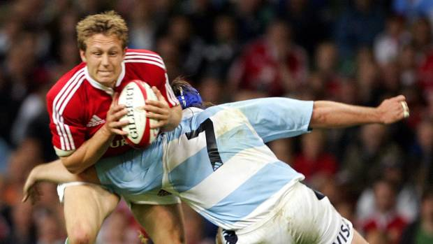 The Lions played Argentina in Cardiff in 2005.