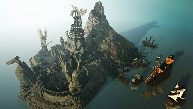 Large-scale collaborative projects have seen the creation of sprawling worlds in Minecraft, including a full ...