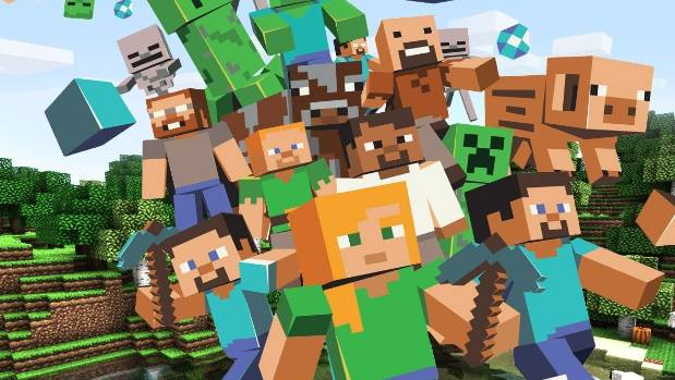 Minecraft, a game phenomenon that lets users build with blocks in a digital world, was the most popular paid-for app on ...