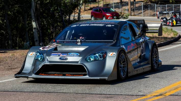 Brakes Fail As Tony Quinn Nears Finish Of Pikes Peak Hill Climb