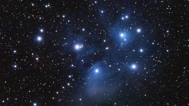 Matariki is the Maori name for the cluster of stars also known as the Pleiades, which rises in in mid-winter.