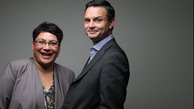 Greens Party co leaders Metiria Turei and James Shaw will be at pains to point out early, they won't be passed over like ...