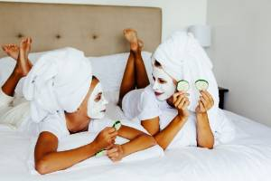 Make a spa day a bonding experience at home with family or friends.