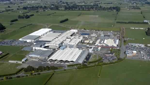 Alliance Group's Lorneville plant.