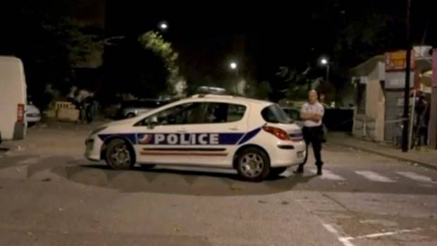 Gunfire outside mosque in southern France